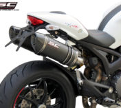 AUSPUFF DUCATI MONSTER 796 CARBON
