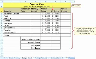 Lease Amortization Schedule Excel Template - Glendale Community Document Template