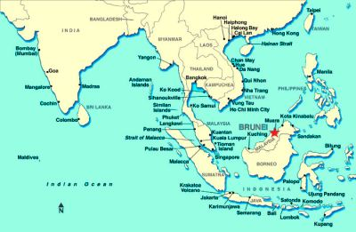 Brunei Maps