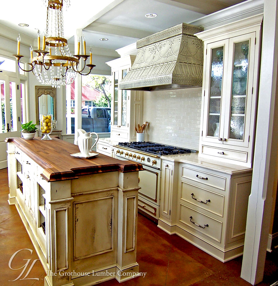 countertops new orleans wood countertops kitchen Walnut Wood Countertop Kitchen Island New Orleans Louisiana