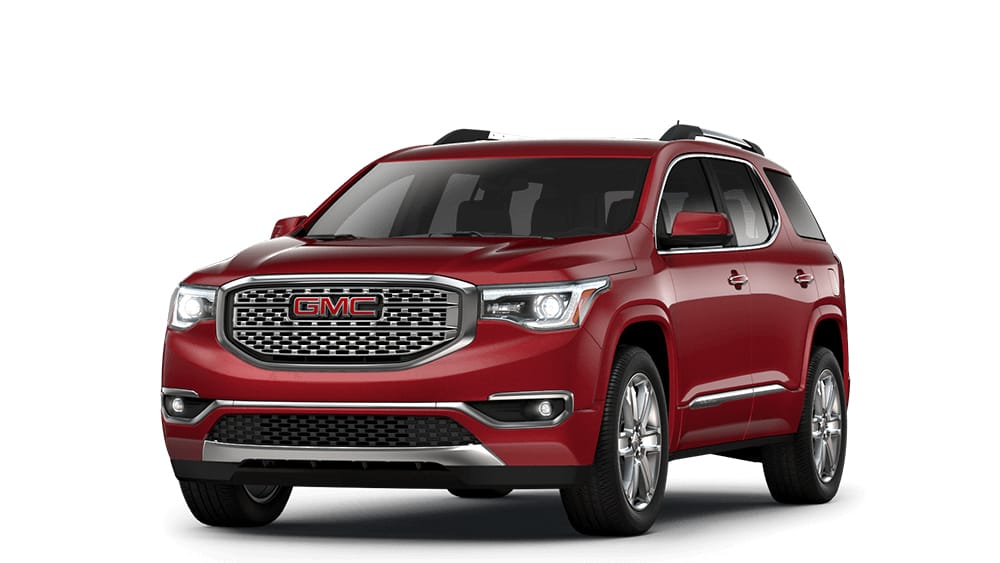 Trucks  SUVs  Crossovers    Vans   2018 GMC Lineup ACADIA
