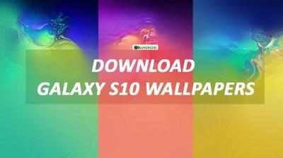 Wallpaper Galaxy S10