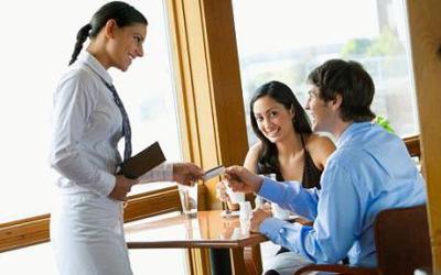Restorana gelen Müşteriyi Karşılama, Yer Gösterme Ve Servis yapılması