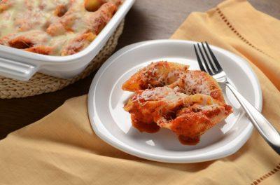 Italian Meatballs in Jumbo Shells - Golden Grain Recipes | Golden Grain Pasta