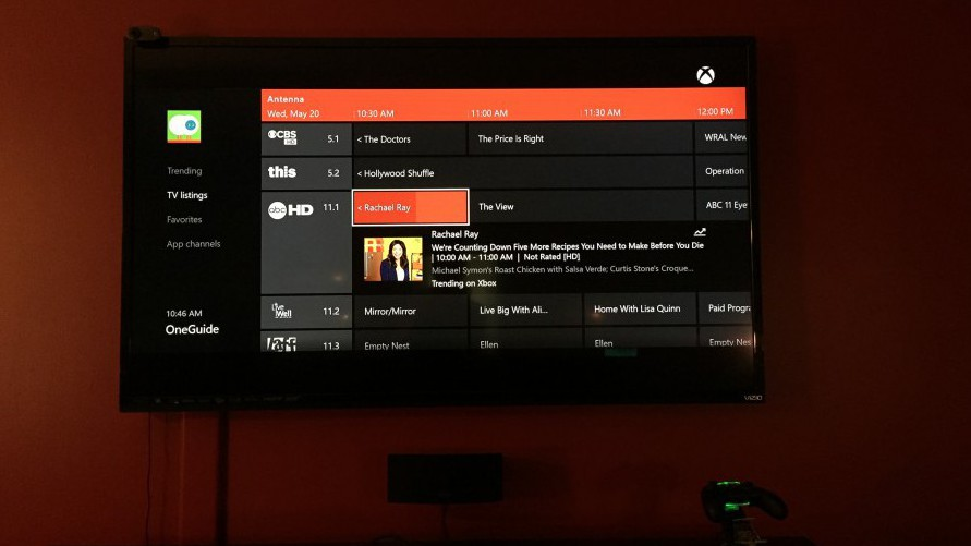 Free Over the Air TV Channel Guide Options     The Cordcutter     Mohu OTA TV Guide on Xbox One with Mohu and Hauppauge