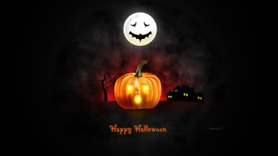 Halloween wallpaper for desktop, iPad & iPhone (PSD & icons included) - GraphicsFuel