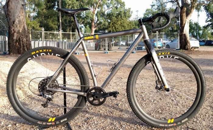 Featured Bike  Jesse Carlsson s Curve GMX Titanium All Terrain     This isn t the first time a bicycle from Curve Cycling has graced the pages  of Gravel Cyclist  In May of 2016 we featured the Curve Grovel CXR