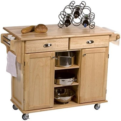 Home Styles Napa Kitchen Cart - Great Bartender