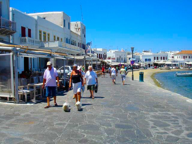 Mykonos  A Review by Matt Barrett To call Mykonos a  gay island  is like calling San Francisco a  gay city    Sure there are gay bars and homosexuality is not hidden  but unless you are
