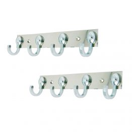 Decorative multiple robe hook - The Green Interio