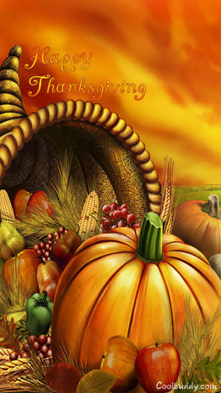 {2016}* Thanksgiving Day Wallpapers For iPhone & Android