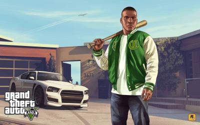 New GTA V Artwork Celebrates Anniversary - GTA 5 Cheats