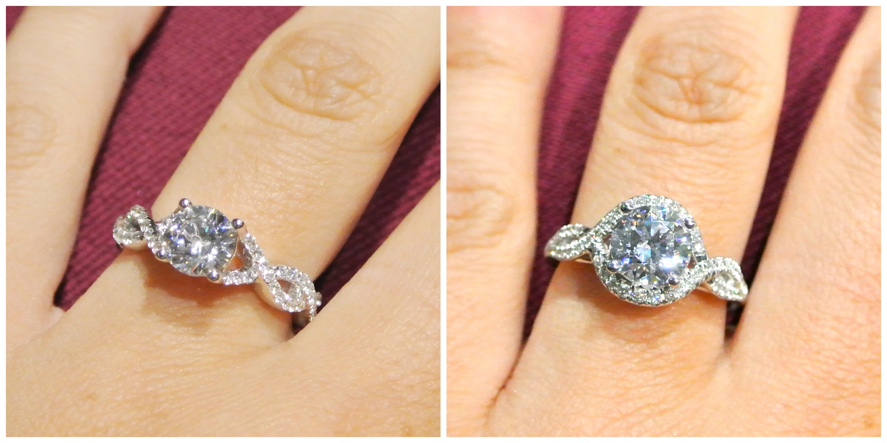 engagement david yurman wedding bands Floral Detailed engagement rings are perfect for the woman that wants to throw the traditional setting to the wind They are very romantic and typically add