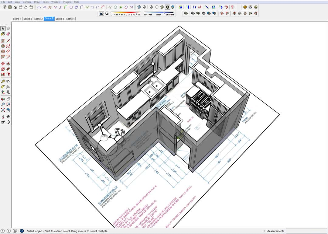 kitchen design illustration select kitchen design kitchen sketchup