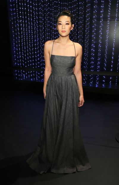 ARDEN CHO at Milly Fashion Show at New York Fashion Week ...