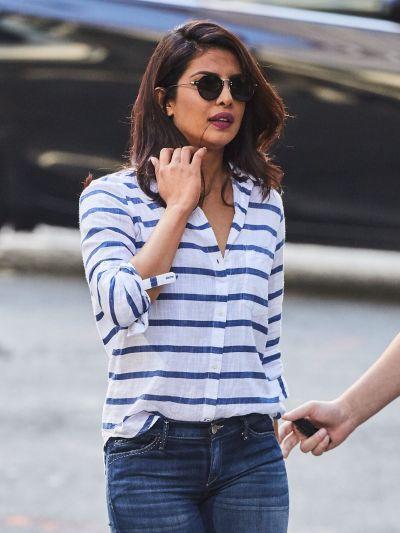 PRIYANKA CHOPRA in Jeans Out in New York 08/16/2016 - HawtCelebs