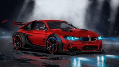 BMW M4 Custom CGI 4K Wallpaper | HD Car Wallpapers | ID #9028