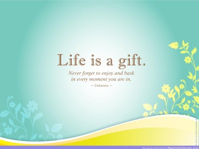 Life Quote Wallpapers, Pictures, Images
