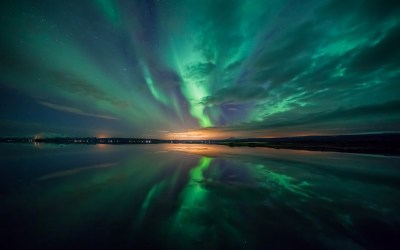 Aurora over Lake Wallpapers | HD Wallpapers | ID #13809