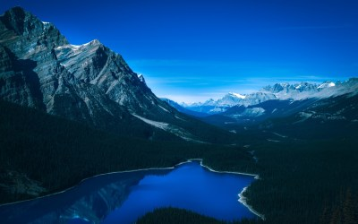 Banff National Park Landscape 4K Wallpapers | HD Wallpapers | ID #24788