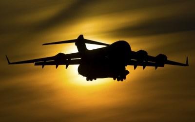 Boeing C 17 Globemaster III Military transport aircraft 4K ...