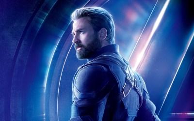 Chris Evans as Captain America Avengers Infinity War 4K 8K ...