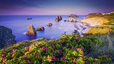 Costa Quebrada Cantabria Spain Coast Wallpapers | HD Wallpapers | ID #18333