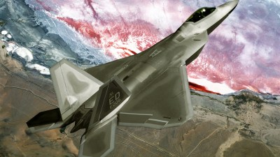 F22 Raptor Fly Over Wallpapers | HD Wallpapers | ID #9625