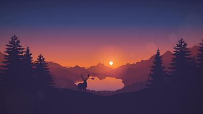 Firewatch 5K Wallpapers | HD Wallpapers | ID #17362