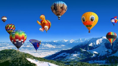 Hot Air Balloon Festival Wallpapers | HD Wallpapers | ID #14773