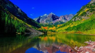 Maroon Bells Peaks Colorado 5K Wallpapers   HD Wallpapers   ID #18643