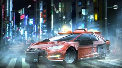 WALLPAPERS HD: Tesla Model S