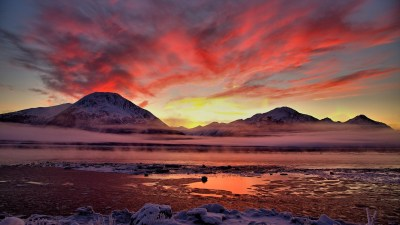 Twilight Cook Inlet Alaska Wallpapers | HD Wallpapers | ID ...