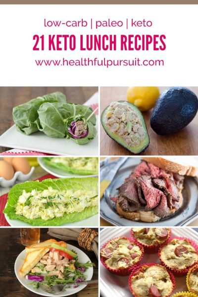21 Keto Lunches | Healthful Pursuit