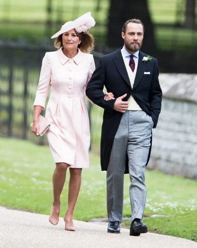 Carole Middleton and James visit Kate and new royal baby at Kensington Palace