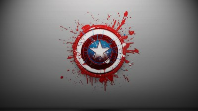 Captain America Logo wallpaper - HD Wallpapers