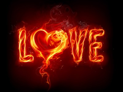 The Fiery Passion of Love - HD Wallpapers