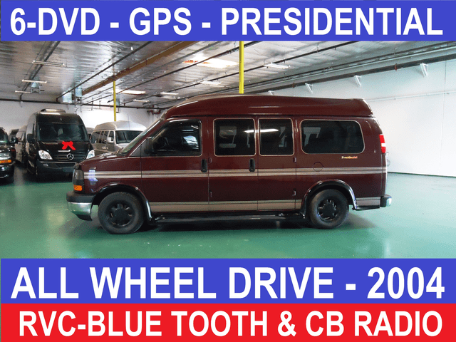 2004 GMC AWD SHERROD PRESIDENTIAL CONVERSION VAN PLEASE REFRESH THE PAGE FOR LATEST UPDATES