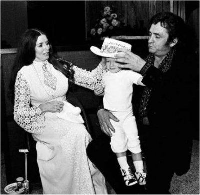 June Carter Cash and Johnny