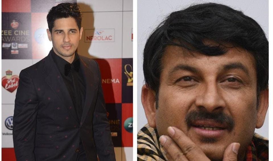 FIRs against actor Sidharth Malhotra  Delhi BJP Chief Manoj Tiwari     Delhi BJP Chief Manoj Tiwari has condemned Siddharth Malhotra s comments on Bhojpuri  language