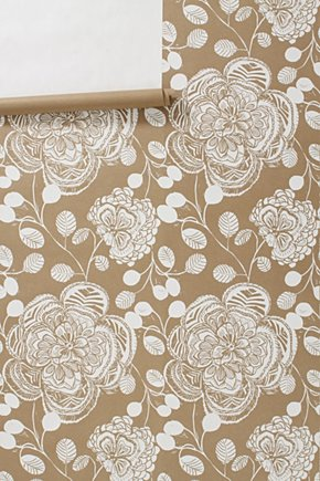 Anthropologie wallpaper - Holly Mathis Interiors