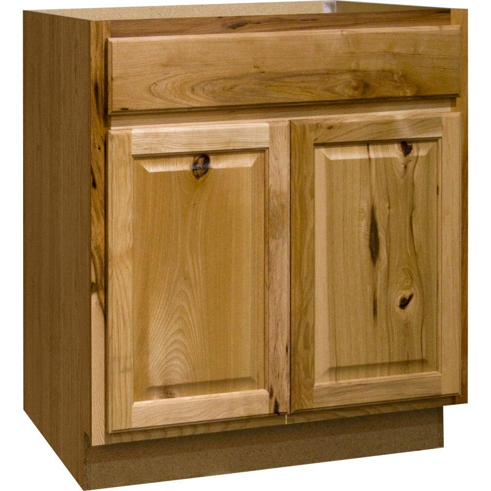 kitchen sink cabinets Hampton Assembled in Base Kitchen Cabinet with Ball Bearing Drawer