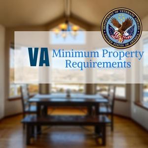 VA Minimum Property Requirements | VA MPR Checklist (2018)