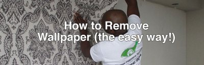 Home Painters Toronto » How to Remove Wallpaper (the easy way!)