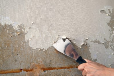 Removing Painted Wallpaper - The Practical House Painting Guide