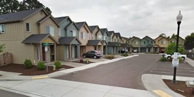 6 Plex House Plans, Narrow Row House Plans, Six Plex, S-727