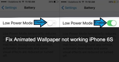 Fix Animated Wallpaper not working on iPhone 6S/7 Plus [How to]