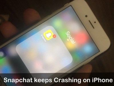 [Solved] Snapchat Keeps Crashing on iPhone XS Max/XS/XR/X/8/7/6S/6/SE/5S