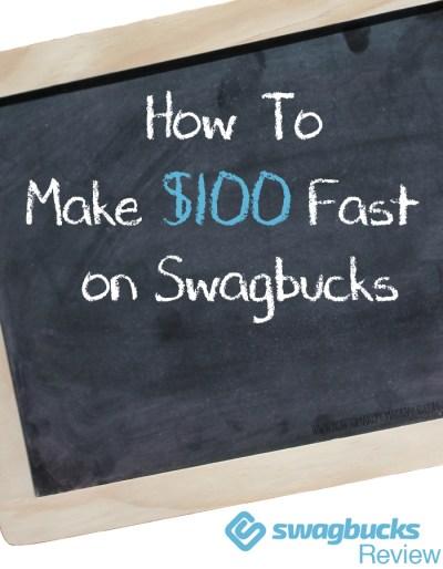 Swagbucks Review: How To Make $100 FAST on Swagbucks - HOWTOMAKEMONEYASAKID.COM