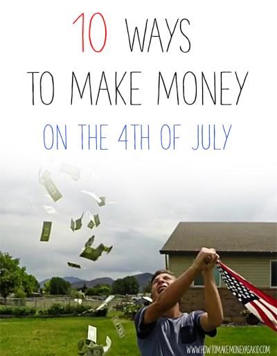 10 Brilliant Summer Ideas: How To Earn Money For Kids - HOWTOMAKEMONEYASAKID.COM